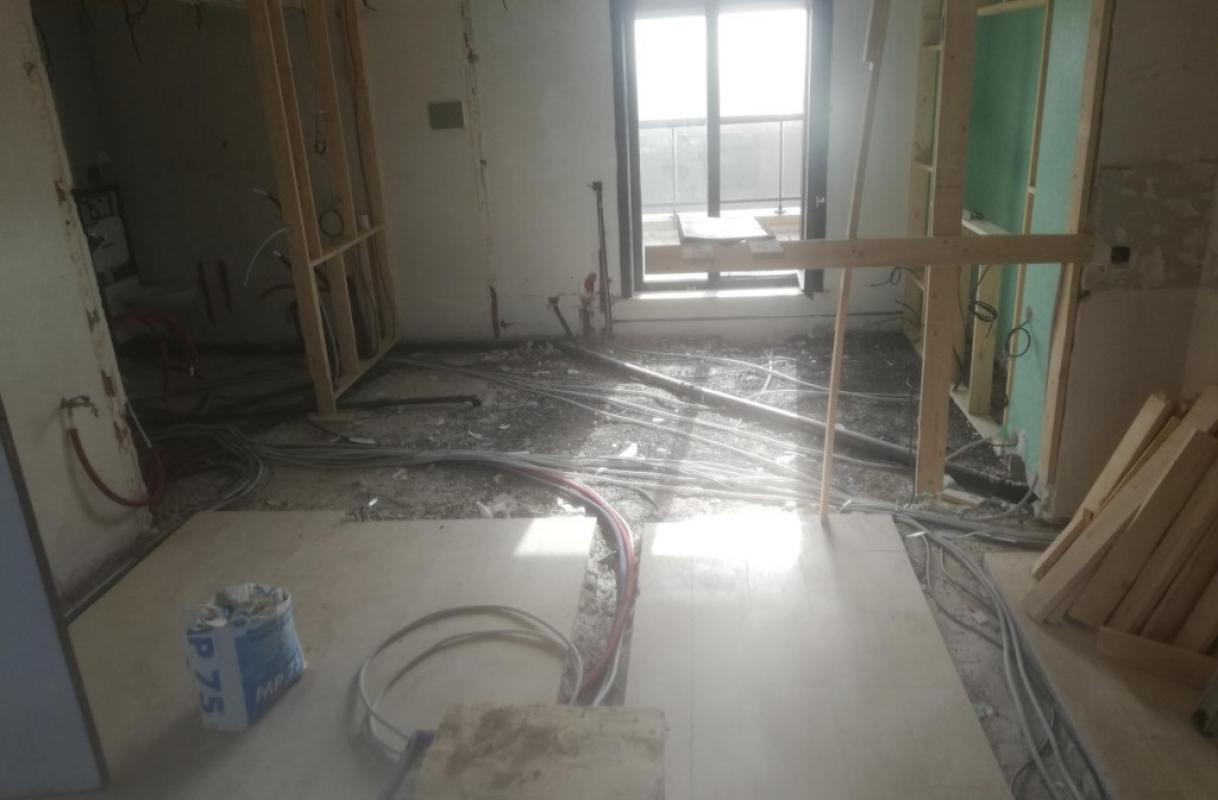 Renovatie appartement Middelkerke